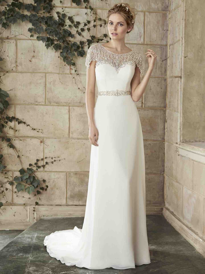 Wedding Dresses With Modernly Chic Glamour Modwedding