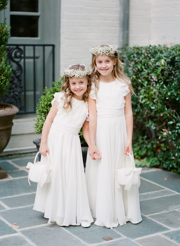 Bridal Gowns Memphis : Elegant blush and white memphis wedding modwedding