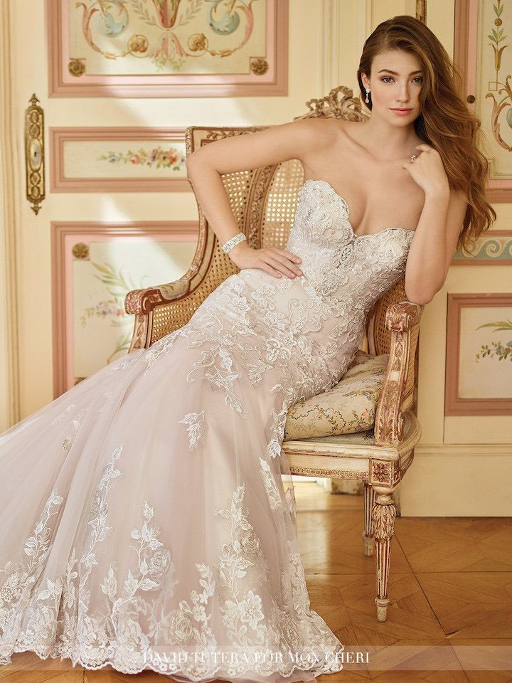 Mermaid Wedding Dresses From Mon Cheri Bridals Modwedding