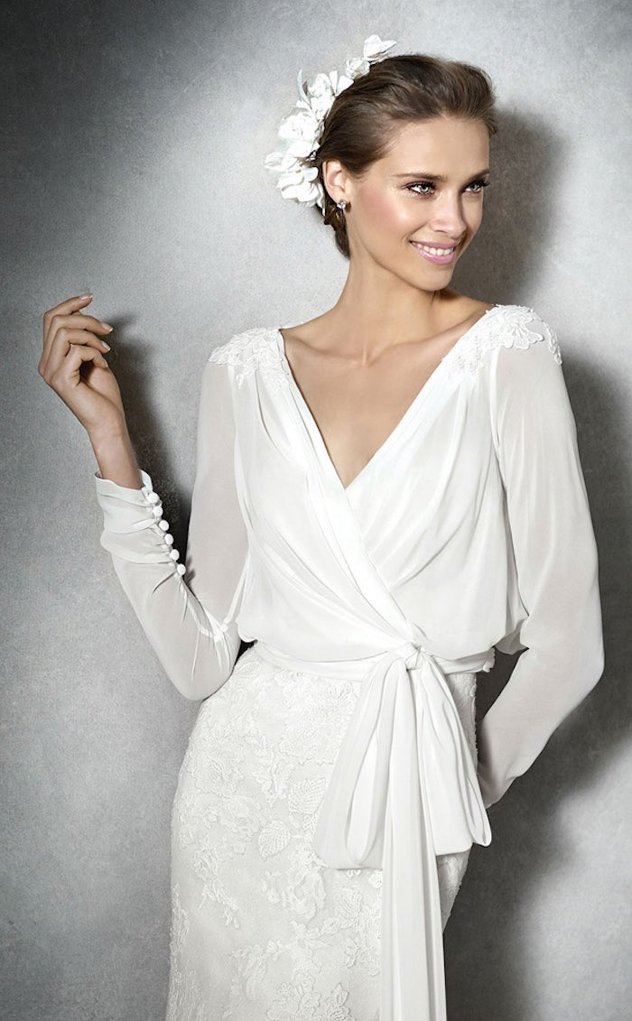 Pretty modest wedding dresses wedding dresses asian for Modest dresses to wear to a wedding