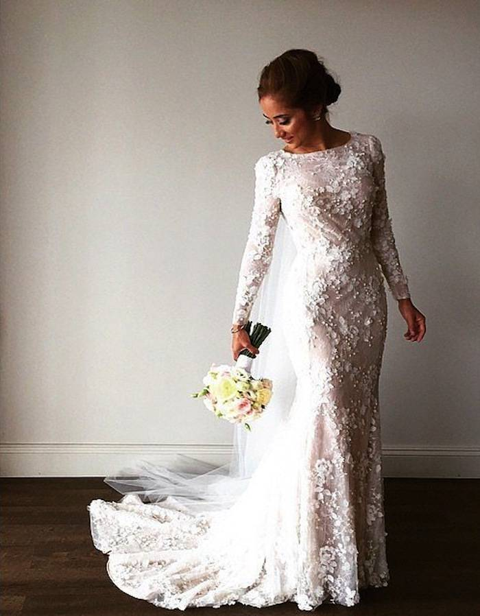 Magnificent Modest Bridal Gowns Ornament - Top Wedding Gowns ...