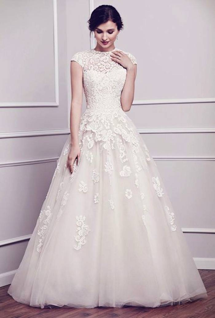 Modest Wedding Dresses With Pretty Details