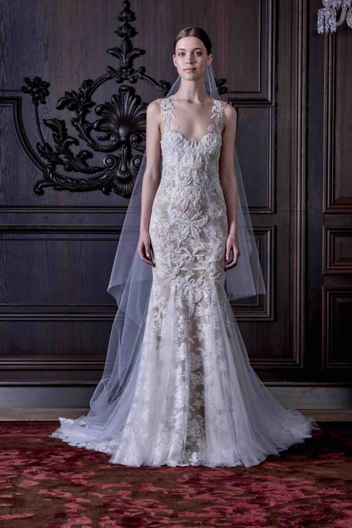 Monique lhuillier wedding dresses 2016 modwedding for Monique lhuillier wedding dress