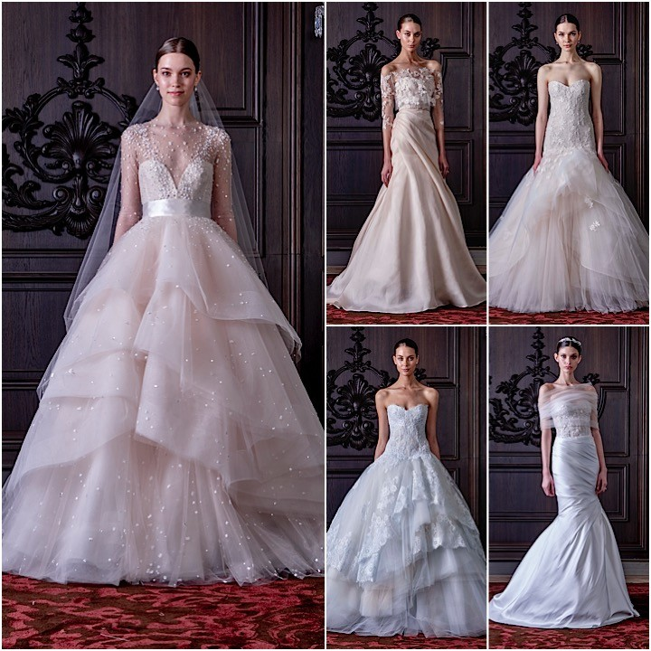 monique lhuillier wedding dresses 2016 modwedding
