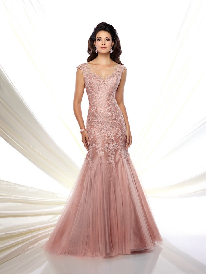 Pink Mon Cheri Mother of the Bride Dresses