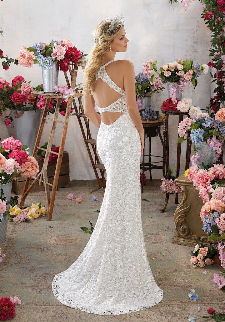 Morilee Wedding Dresses With Stunning Open Back Details