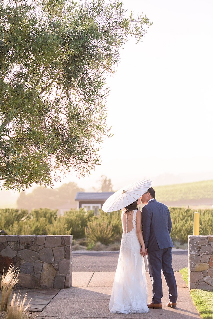 Carneros winery wedding
