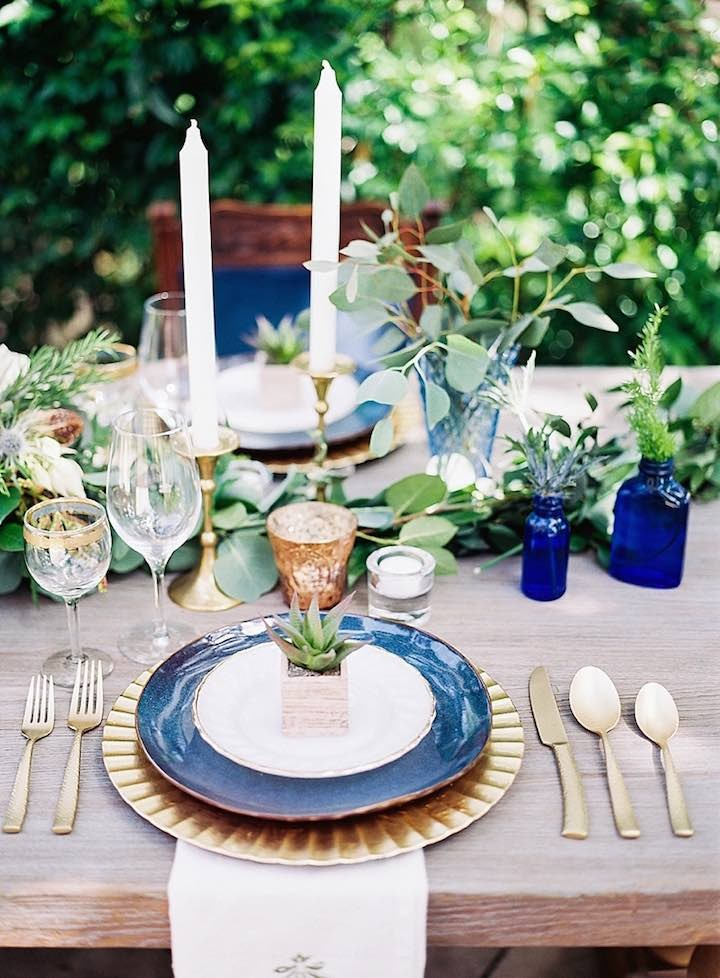 Sophisticated Navy Wedding Inspiration Shoot Modwedding