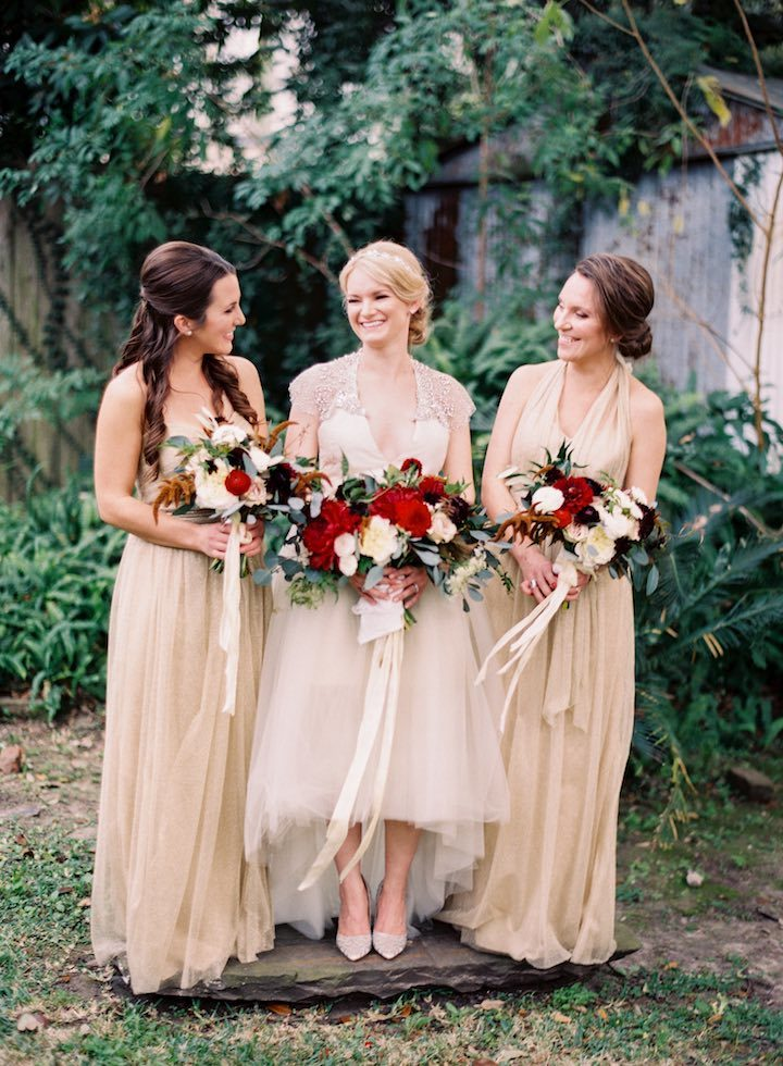 New Orleans Wedding with Romantic Flair - MODwedding