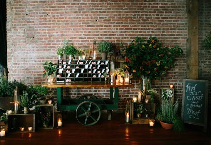 Wedding Florists New York City : Floral chic new york city wedding modwedding