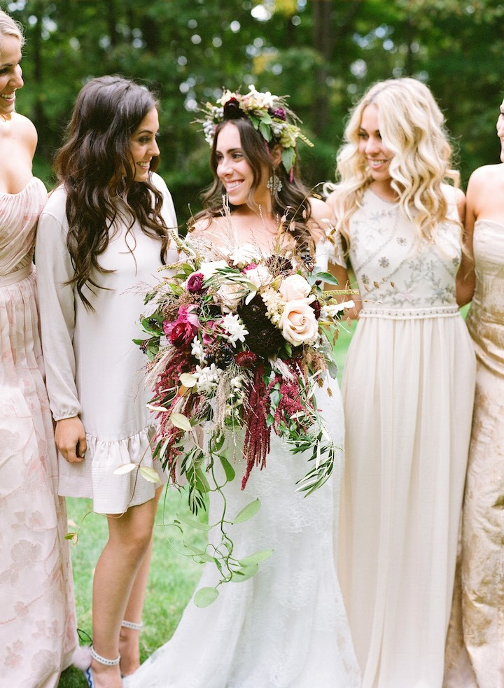 Boho Wedding Dress Nyc : Related new york wedding celebrates classic elegance