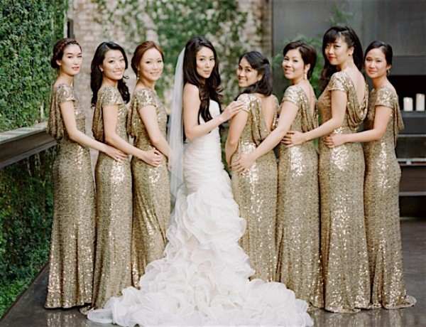Glimmering Gold New York Wedding