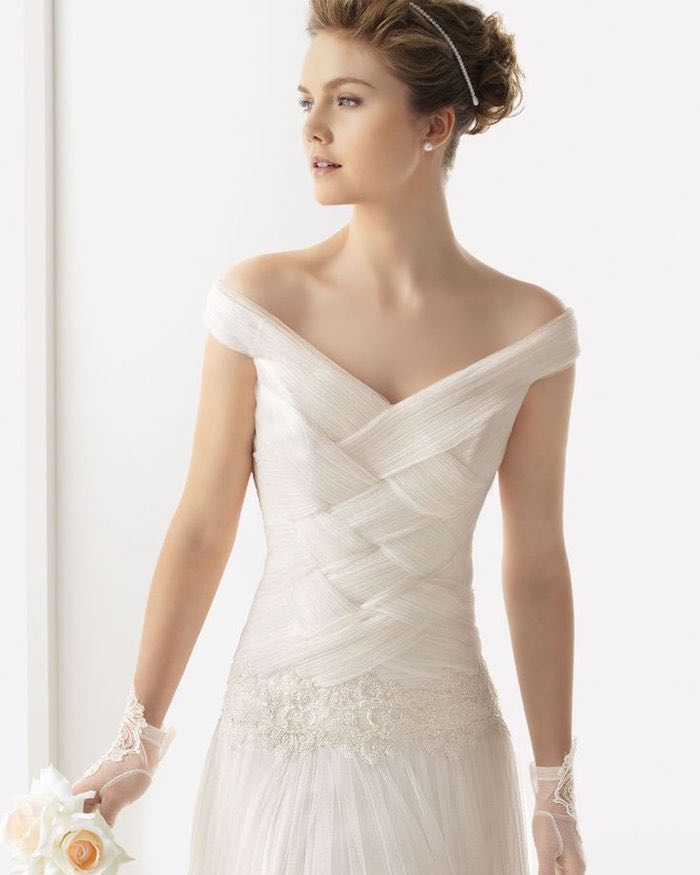 Sexiest Off The Shoulder Wedding Dresses