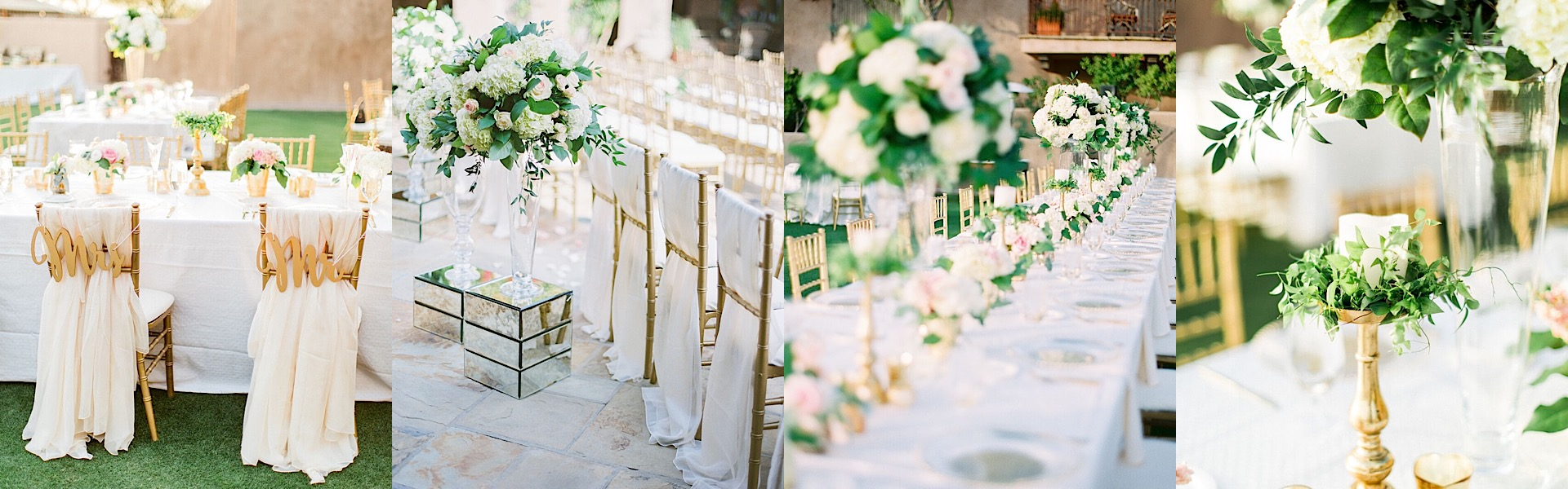 Stunning Arizona Wedding with Gold Details - MODwedding