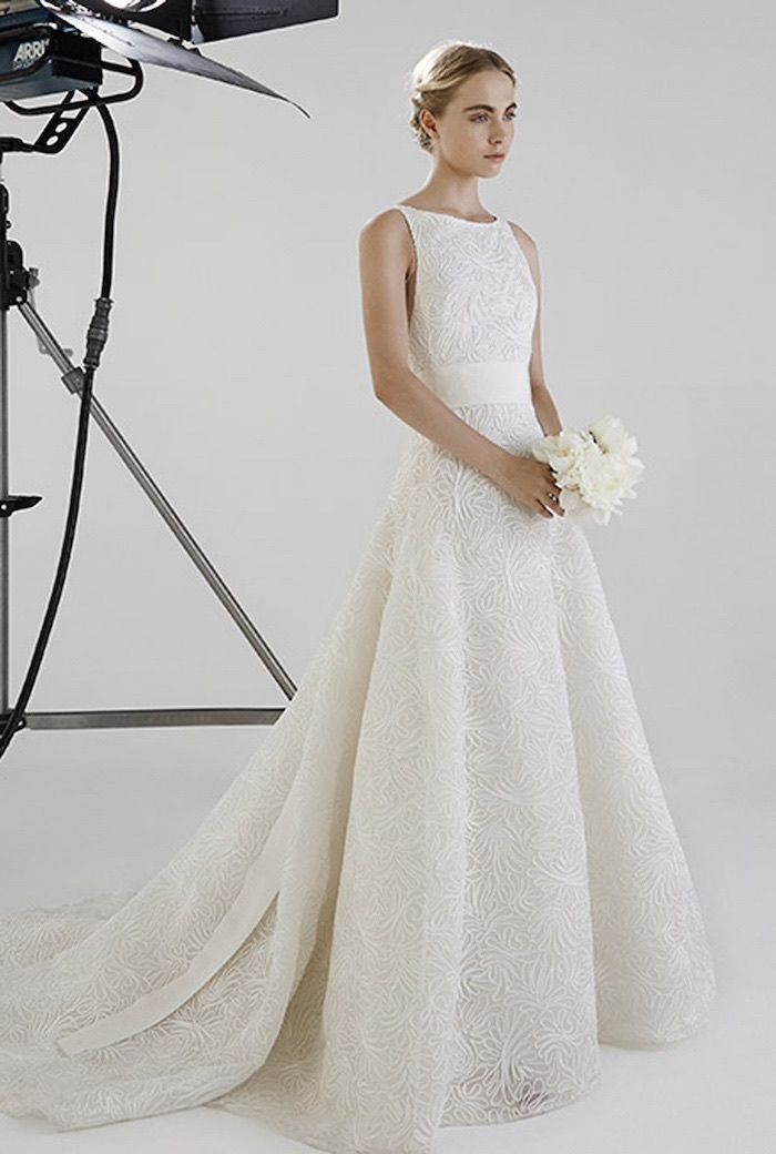 peter langner wedding dress collection 2016 modwedding