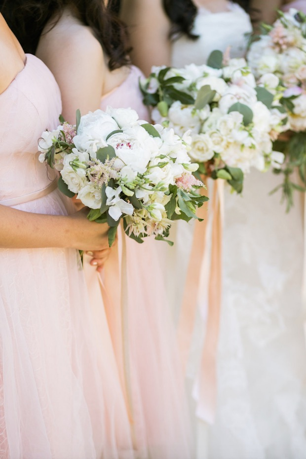 Classically Refined California Wedding With Blush Details