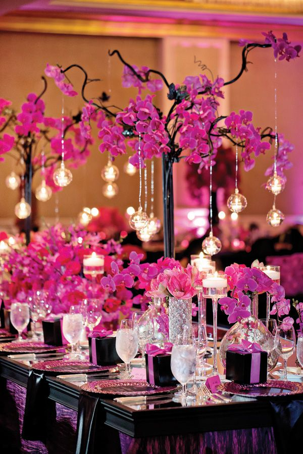 Pink wedding ideas with elegance modwedding