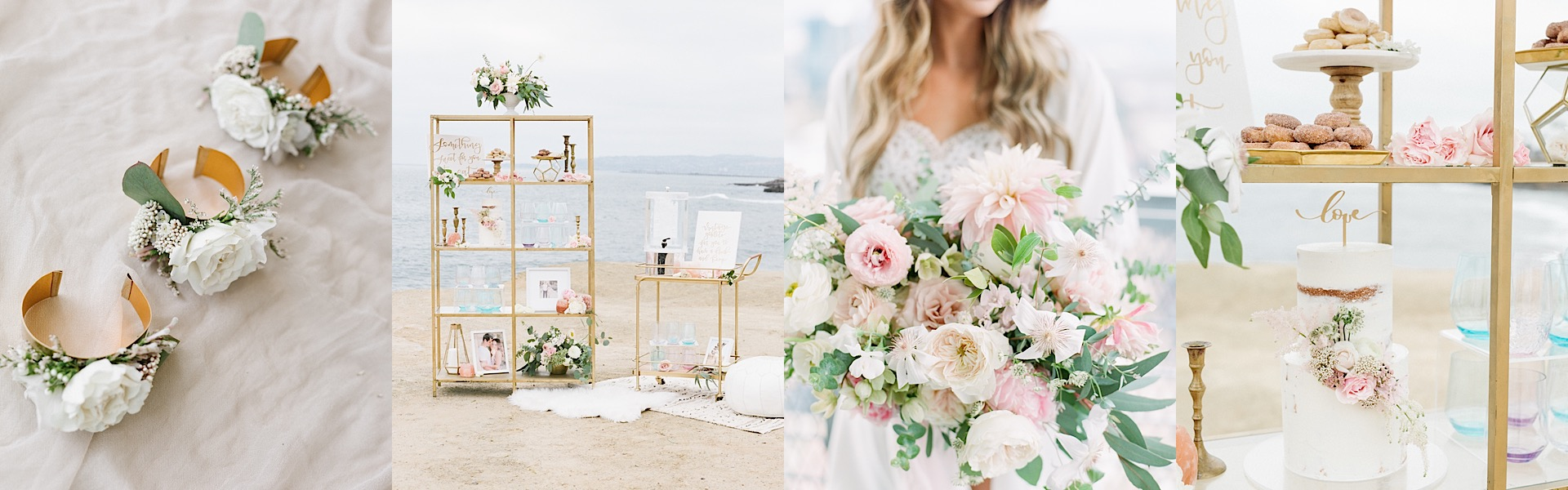 Romantic Pink San Diego Wedding from Tenth & Grace Photography ...