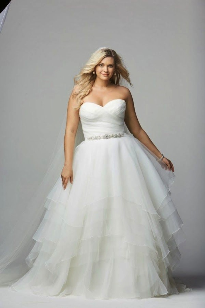 Plus size wedding dresses a simple guide modwedding for What is my wedding dress size