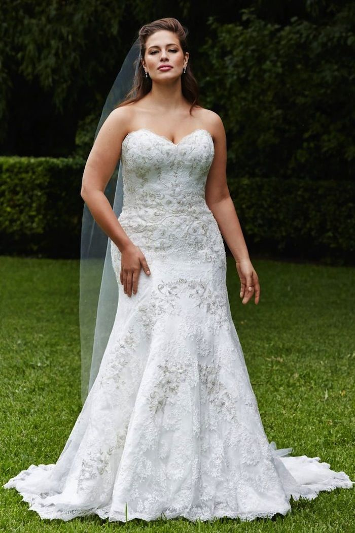 Plus size wedding dresses a simple guide modwedding for Simple wedding dresses for small wedding