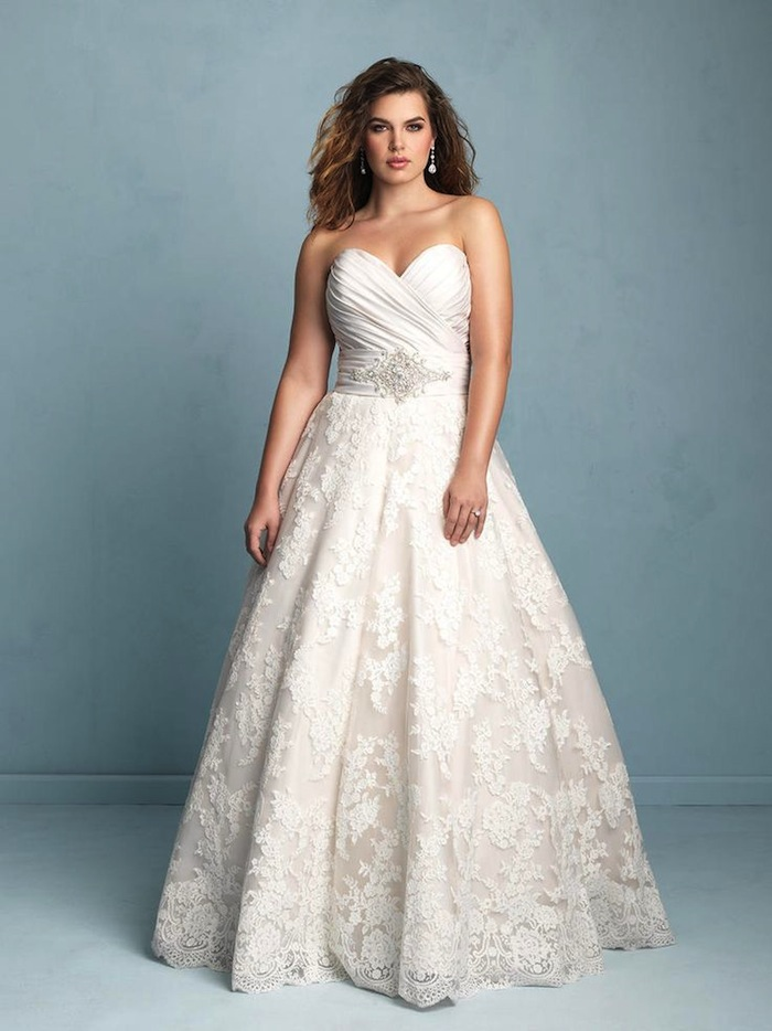 Plus Size Wedding Dresses: A Simple Guide - MODwedding