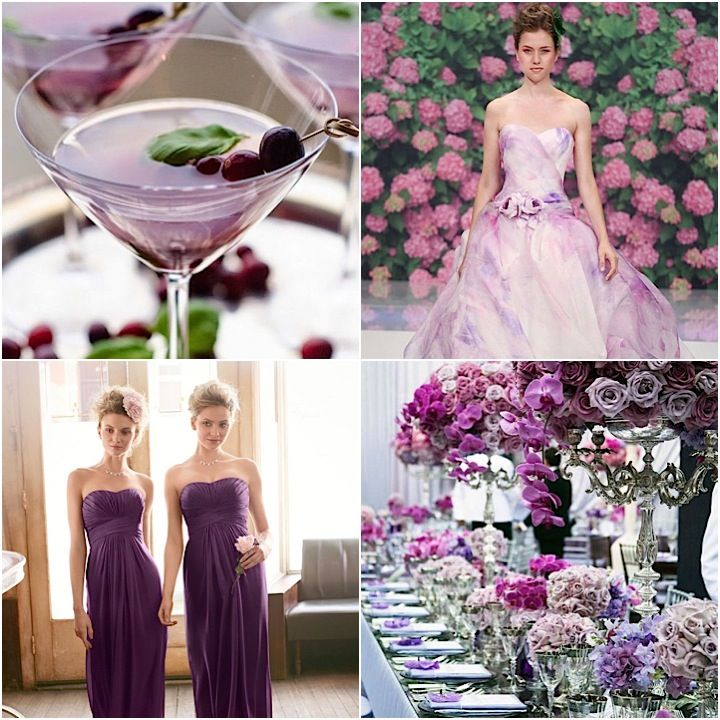Purple Weddings Ideas: Glamorous Purple Wedding Ideas