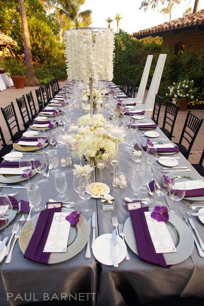 Purple Wedding Ideas with Pretty Details - MODwedding
