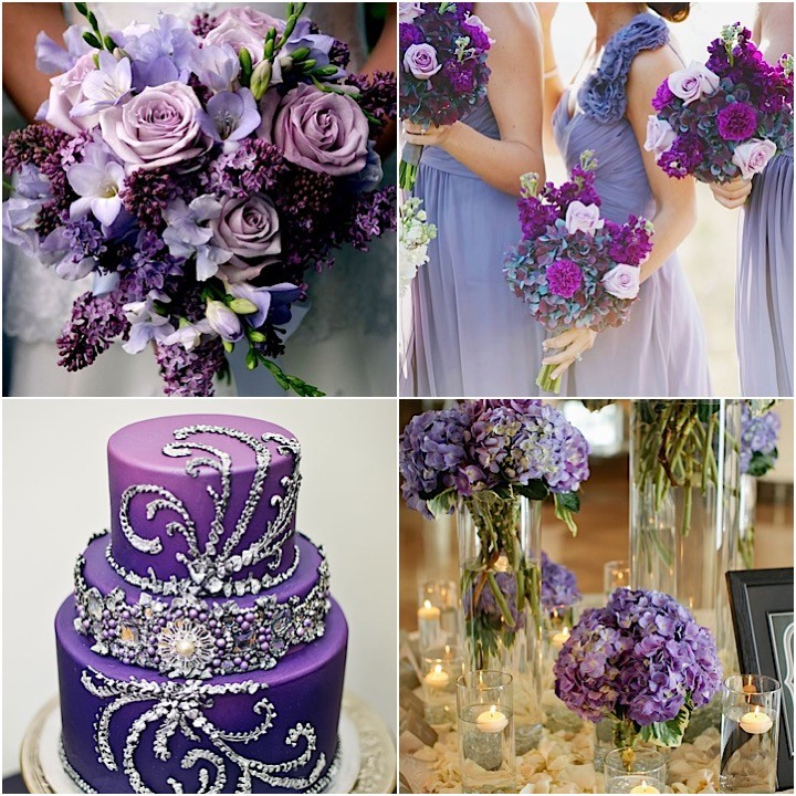 Purple Wedding Ideas With Pretty Details
