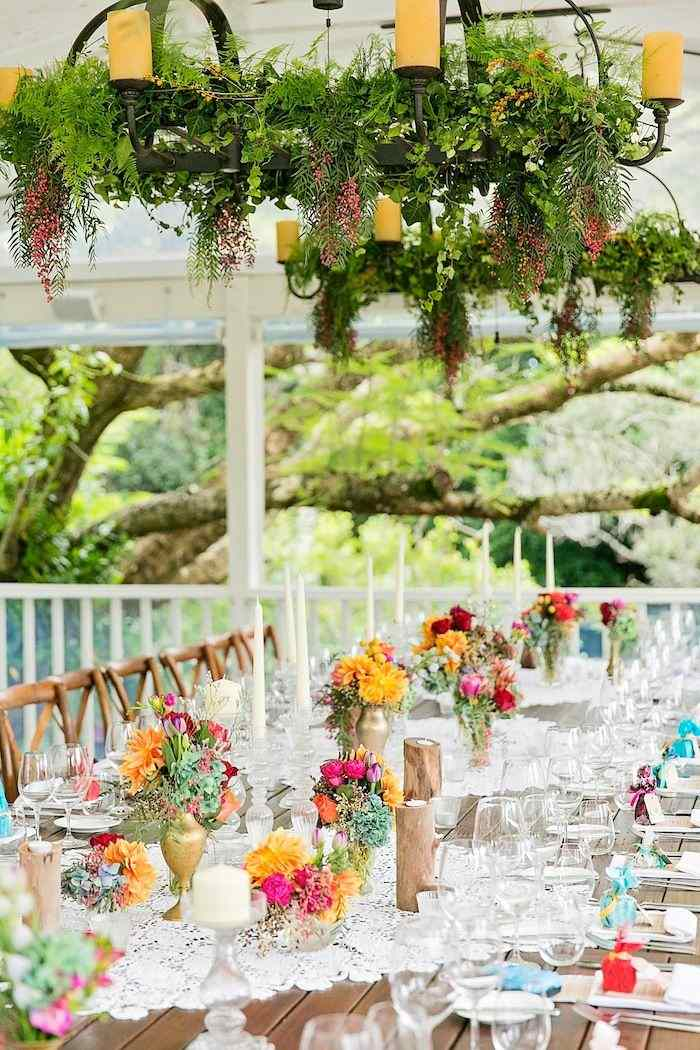 Colorful Outdoor Wedding Idea In Queensland Modwedding