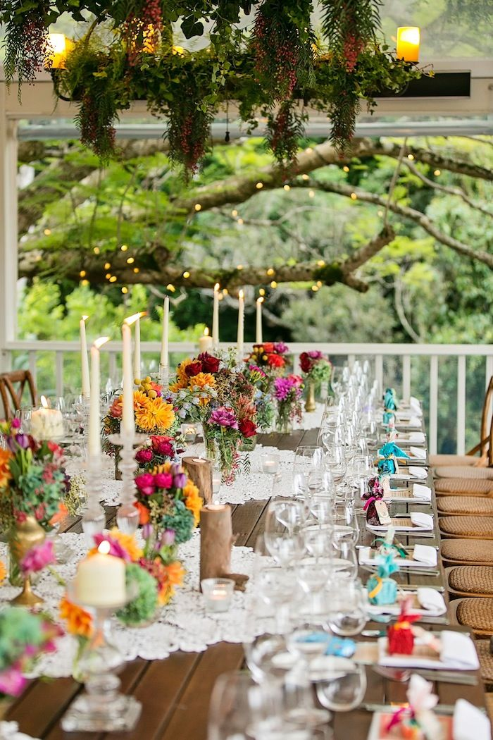 wedding ideas brisbane colorful outdoor wedding idea in queensland modwedding 28000