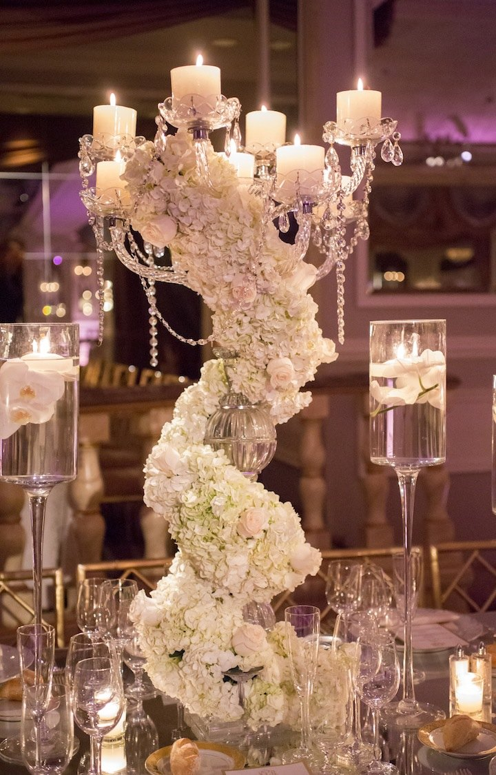Glamorous new york wedding at the pierre hotel modwedding for Decorations for weddings at home