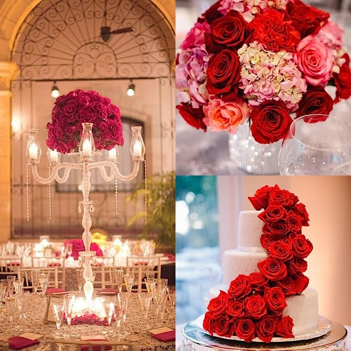 Romantic Red Wedding Ideas: Luxurious Wedding Ideas With Glamour- MODwedding