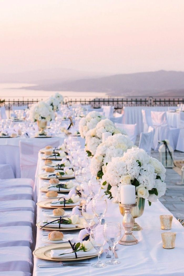 Rooftop wedding ideas with style modwedding for All white wedding theme pictures