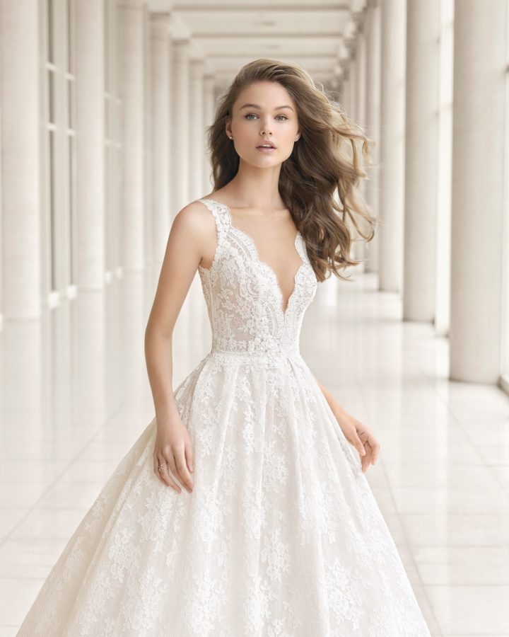 Beautifully Timeless Rosa Clara Wedding Dresses Couture 2018 ...