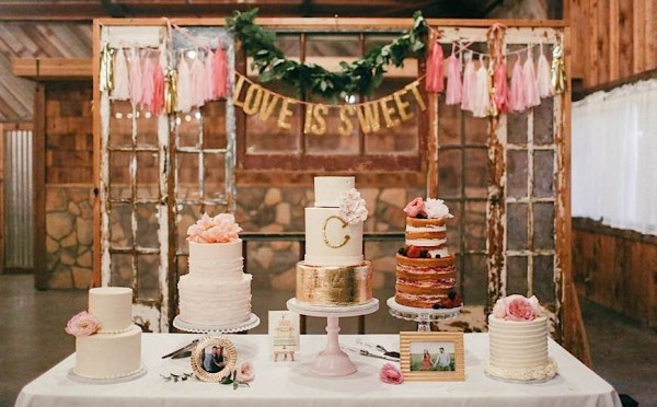 Lovely Wedding Cakes from Sugar Bee Sweets Part I