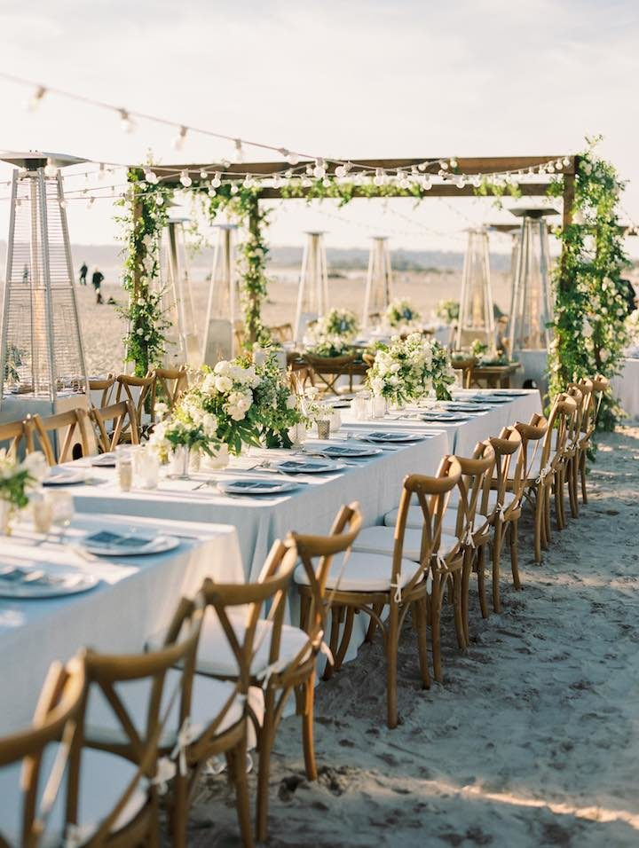 Beachfront San Diego Wedding Garden Vibes Modwedding