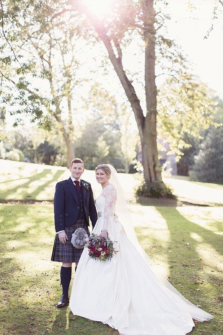 A Gorgeous Fall Scotland Wedding