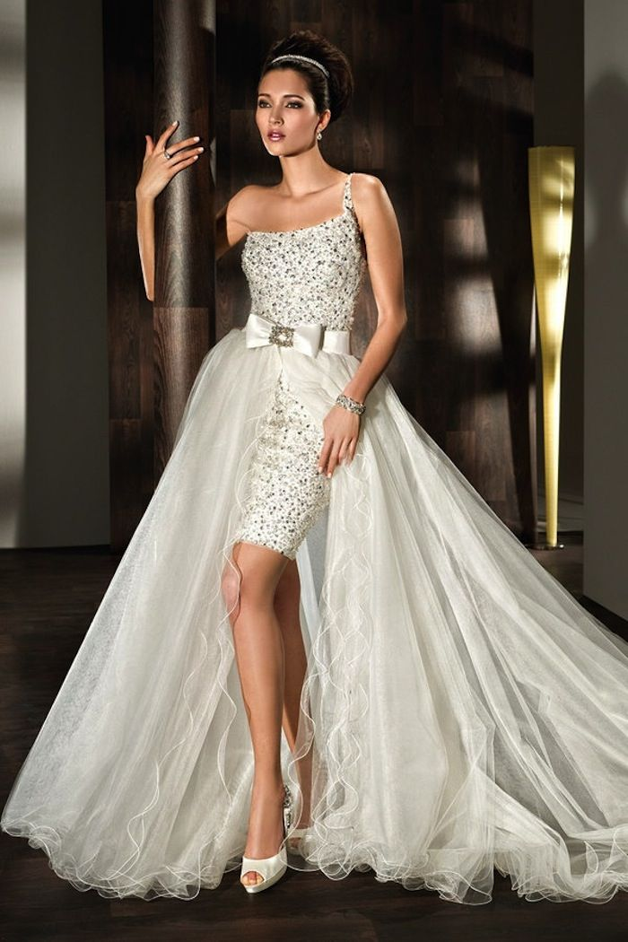 Short wedding dresses 12 08152015 ky for Petite dresses for wedding