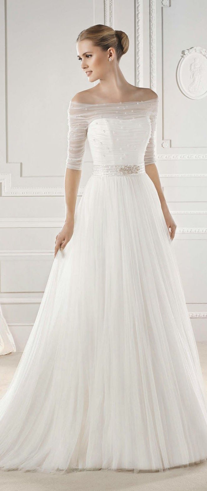 Elegance Of   Wedding Dresses : Simple wedding dresses with elegance modwedding