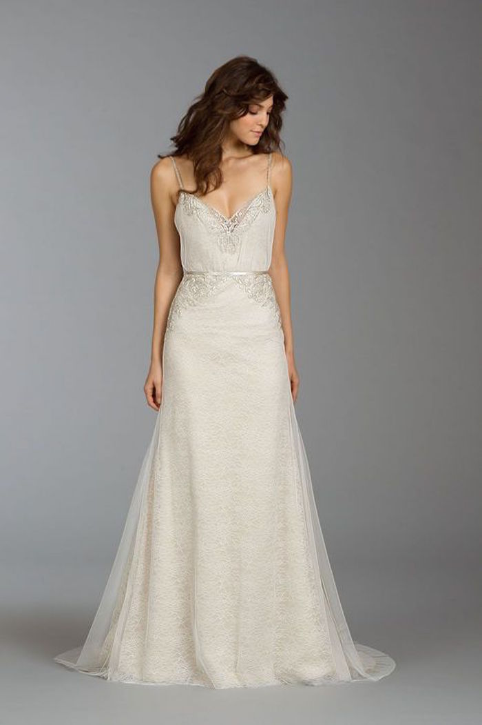 Simple wedding dresses with elegance modwedding for Simple casual wedding dresses