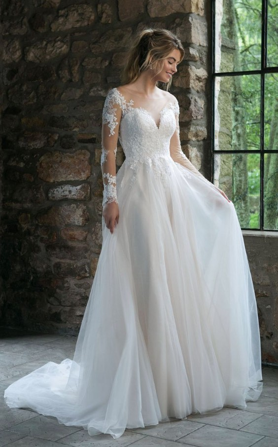 Wedding Dress Inspiration - Sincerity Bridal Collection of Justin ...