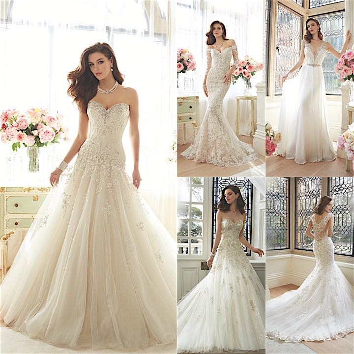 Sophia Tolli Wedding Dresses Collage 021416mc