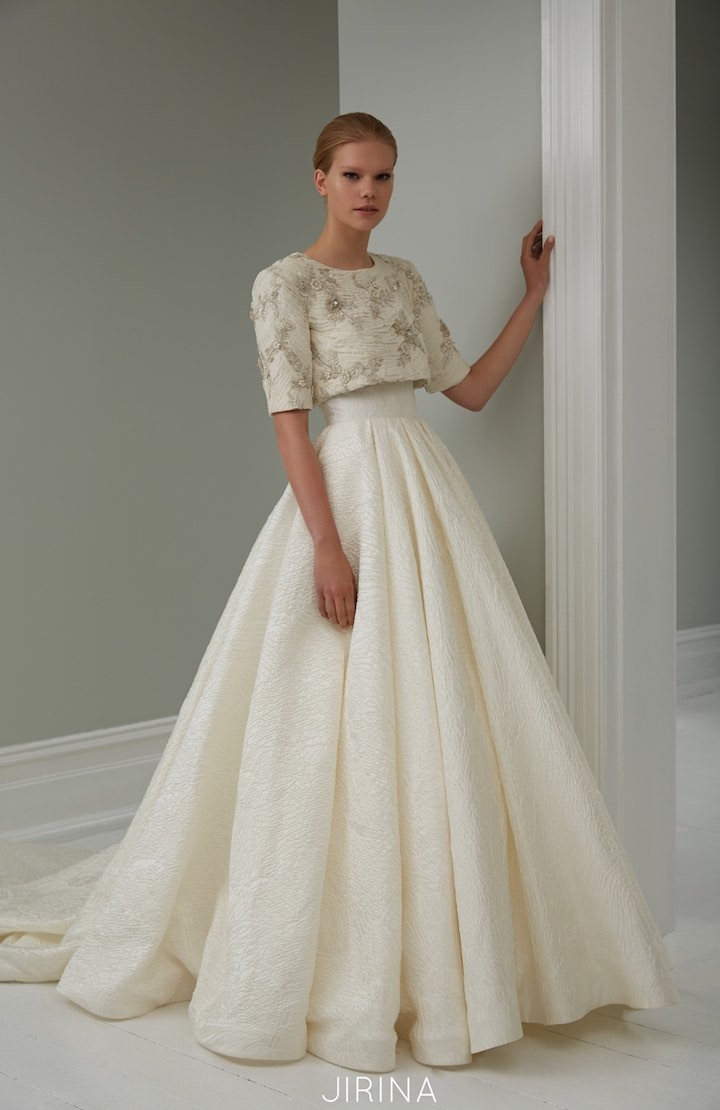 This wonderful collection of steven khalil wedding dresses is