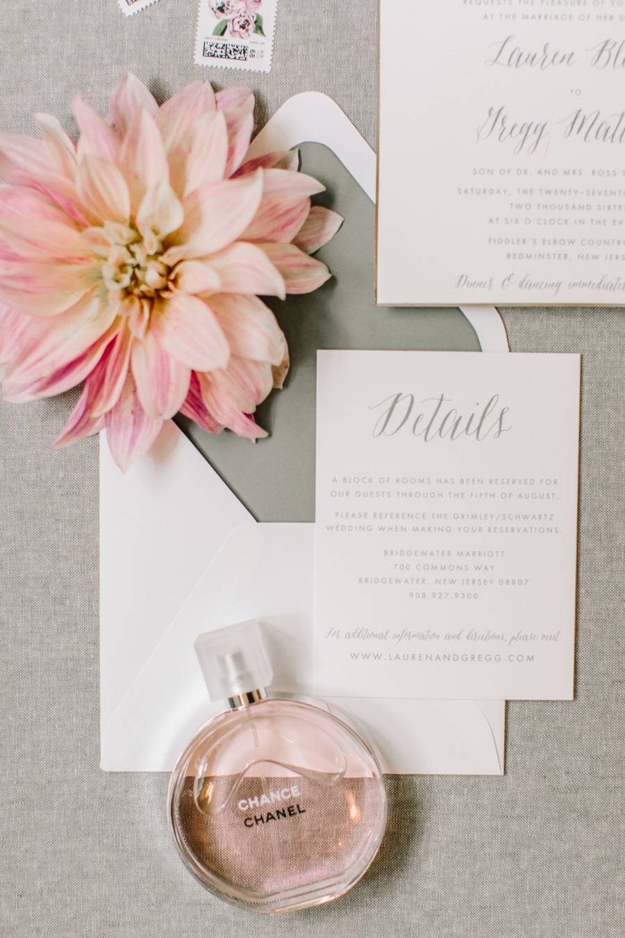 Breathtaking Pink and Lavender Summer Wedding from Love & Light ...