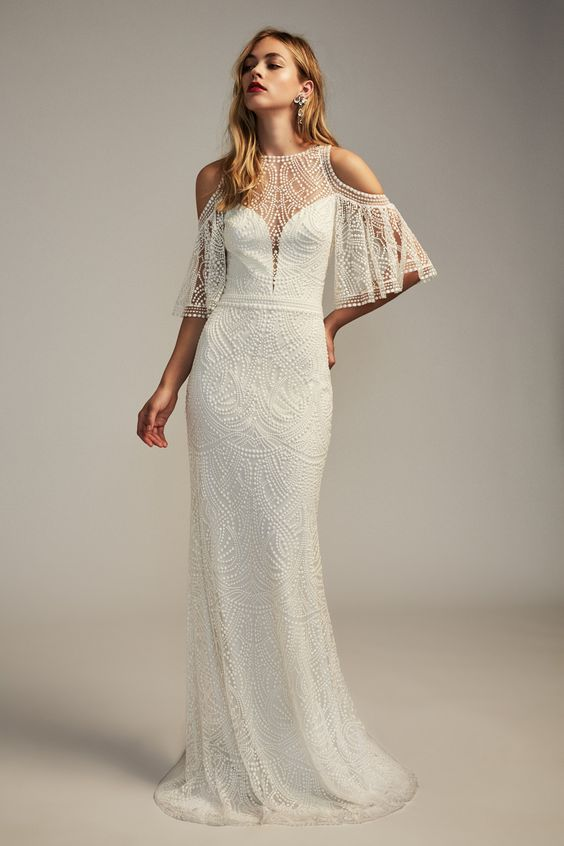 Sophisticated Tadashi Shoji Wedding Dresses For The