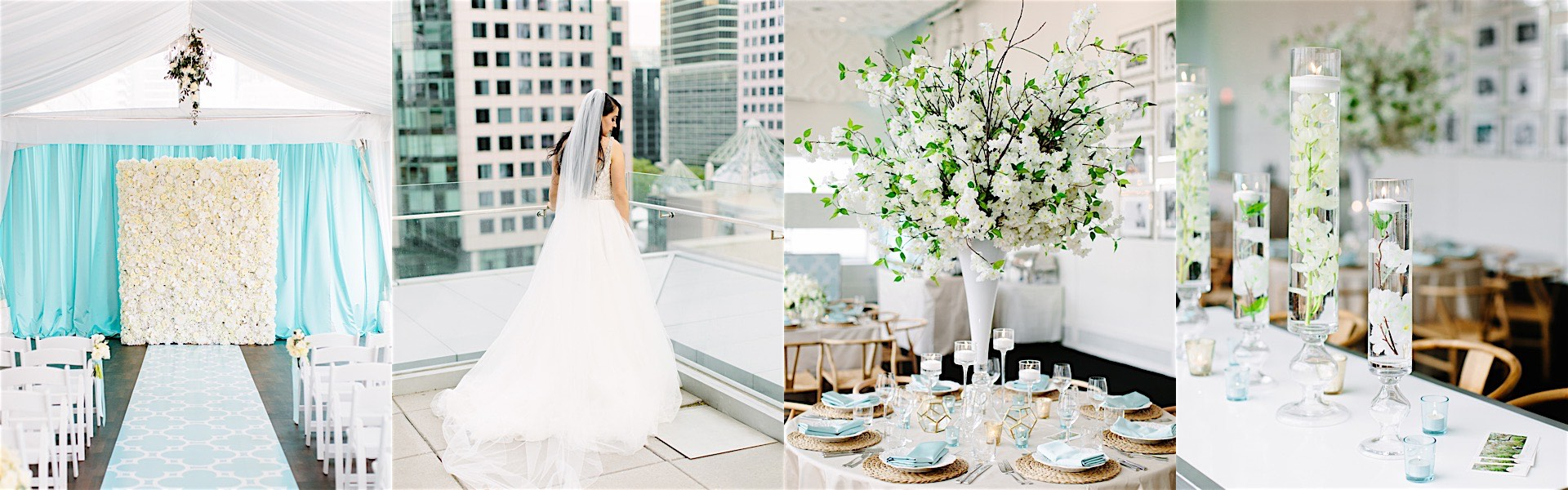 Toronto Wedding Sprinkled in Powder Blue Details - MODwedding