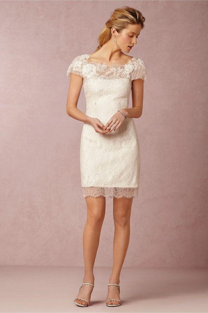 Vintage Lace Wedding Dresses From BHLDN - MODwedding