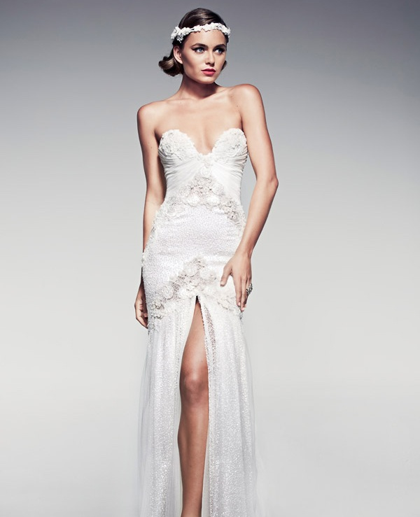 Vintage Wedding Dresses with a Modern Spin - MODwedding