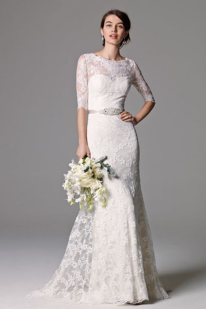 Watters wedding dresses fall 2015 collection modwedding for Wedding dresses by watters