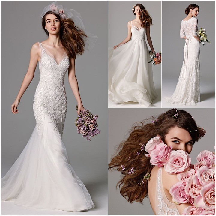 Watters Wedding Dresses Fall 2015 Collection - MODwedding